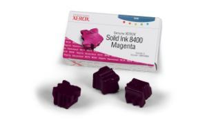 xerox 108r606 - cartouche d'encre magenta phaser 8400 - boite de 3
