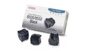 xerox 108r668 - cartouche d'encre noire phaser 8500 / phaser 8550 - boite de 3