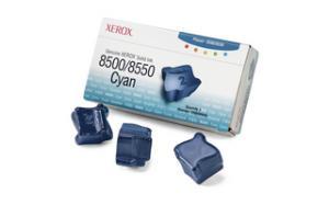 xerox 108r669 - cartouche d'encre cyan phaser 8500 / phaser 8550 - boite de 3