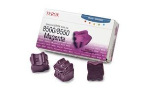 xerox 108r670 - cartouche d'encre magenta phaser 8500 / phaser 8550 - boite de 3