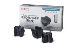 xerox 108r726 - cartouche d'encre noire phaser 8560 - boite de 3