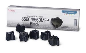 xerox 108r727 - cartouche d'encre noire phaser 8560 - boite de 6