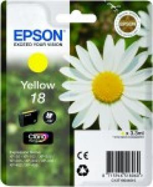 epson t1804 - cartouche encre jaune n° 18 - paquerette