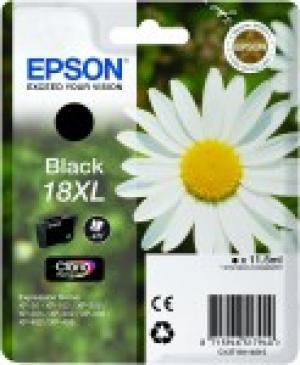 epson t1811 - cartouche encre noire n° 18xl - paquerette
