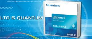 quantum mr-l6mqn - cartouche de sauvegarde lto-6 ultrium rew - 2.5t/6.25t