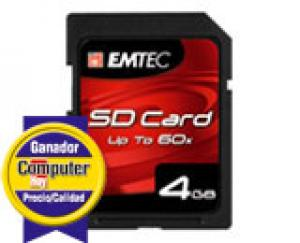 emtec msd4gb - carte mémoire sd-hc 4gb classe 4