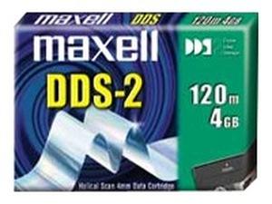maxell 22920000 - cartouche de sauvegarde 4mm 120m 4/8gb dds-2