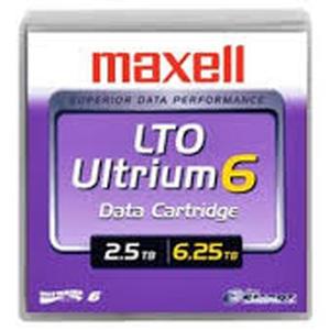 maxell 22955800 - cartouche de sauvegarde lto-6 ultrium 2.5tb/6.25to