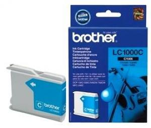 brother lc1000 c - cartouche cyan dcp-130c /330c /540cn /750cw, mfc-240c /440c