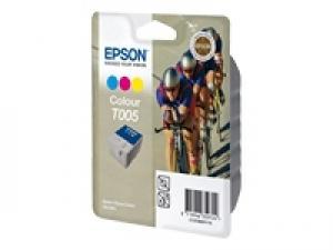 epson t005 - cartouche encre 3 couleurs - stylus color 900 /980