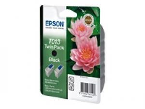 epson t013 (x2) - cartouche encre noire - sc480/sxu/580/c20c40