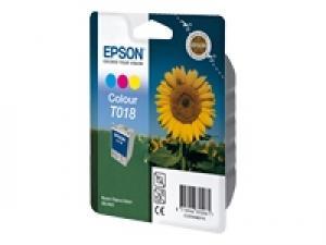 epson t018 - cartouche encre couleur - stylus color 680
