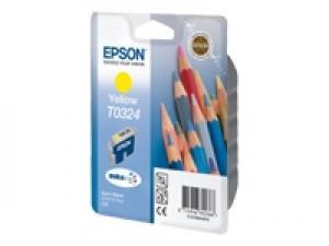 epson t0324 - cartouche encre jaune - stylus c70/c80