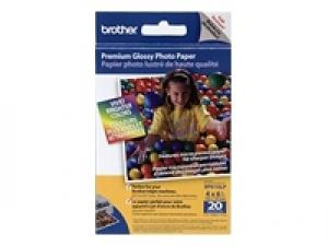 brother bp 61glp - papier photo brillant a4 190g /m2 20 feuilles