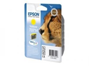 epson t0714 - cartouche encre jaune - d78/92/120/dx4400/5050/6000 sx200 sx400