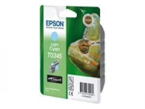 epson t0345 - cartouche encre cyan-clair - stylus photo 2100