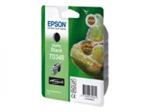 epson t0348 - cartouche encre noire mat - stylus photo 2100