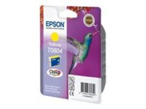 epson t0804 - cartouche encre jaune - série r rx px - colibri