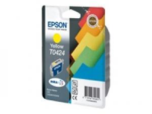 epson t0424 - cartouche encre jaune - c82/cx5200/cx5400