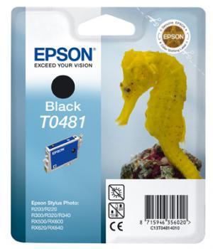 epson t0481 - cartouche encre noire - r200/220/300/320/340/rx500/600/620/640