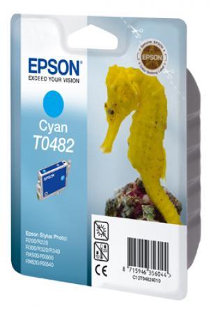 epson t0482 - cartouche encre cyan - r200/220/300/320/340/rx500/600/620/640