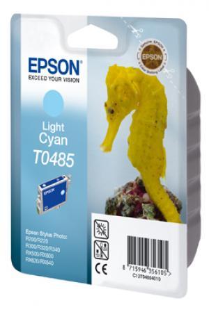 epson t0485 - cartouche encre cyan-clair - r200/220/300/320/340/rx500/600/620/64
