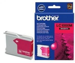 brother lc1000 m - cartouche magenta dcp-130c /330c /540cn /750cw, mfc-240c /44