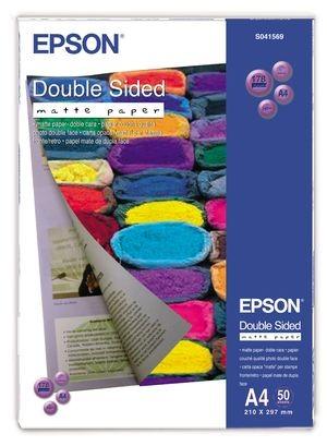 epson s041569 - papier couché double face a4 178g/m2 - 50 feuilles