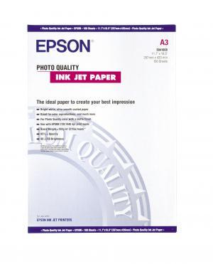 epson s041068 - papier couché qualité photo a3 102g/m2 - 100 feuilles