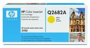 hp q2682a - toner jaune laserjet 3700