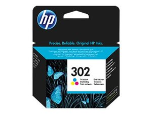 hp f6u65a - cartouche d'encre couleur n° 302 pour officejet pro 3830