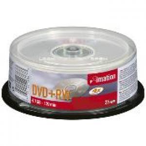 imation 16867 - dvd+rw 4,7gb 4x - spindle de 25
