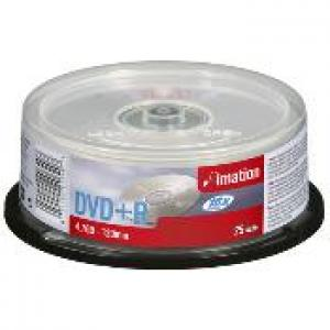 imation 21749 - dvd+r 4,7gb 16x - spindle de 25