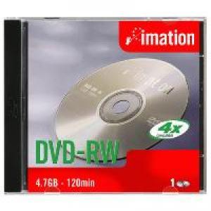 imation 21061 - dvd-rw 4,7gb 4x - pack de 10