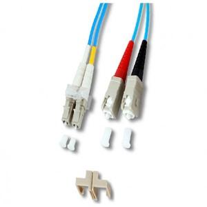 divers 2071626 - cordon fibre optique - om3 50/125 - sc/lc - 2m