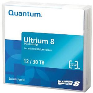 quantum mr-l8mqn-02 - cartouche de sauvegarde lto-8 ultrium 12tb / 30tb - worm