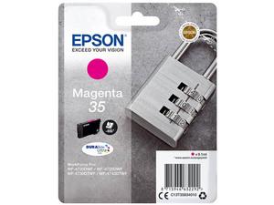 epson c13t358340 - cartouche d'encre magenta cadenas - wf-4720 4725 4730 4740