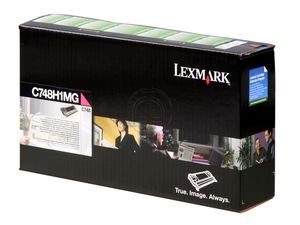 lexmark c748h1mg - toner magenta c748 - lrp - 10.000 pages