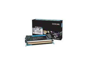 lexmark x748h1cg - toner cyan x748 - lrp - 10.000 pages