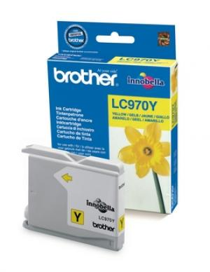 brother lc970 y - cartouche jaune dcp135c /dcp150c /dcp153c /mfc235c /mfc260c