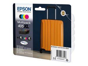 epson t05h640 - cartouche 405xl pack de 4 couleurs kcmy valise