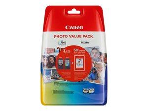 canon 5222b014 - cartouche d'encre noire pg540xl + couleur cl541xl