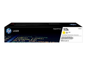 hp w2072a - toner jaune laserjet 150a 150nw 178nw 179fnw 179fwq (117a)