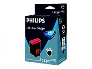 philips pfa432 - cartouche d'encre noire faxjet 320/325/335/355/365 - pack de 2