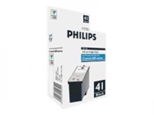 philips pfa541 - cartouche d'encre noire mf-jet 650 / 660 / 665