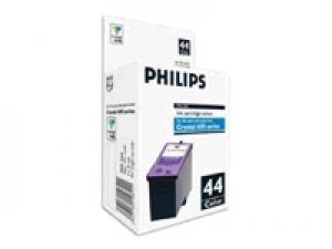 philips pfa546 - cartouche d'encre 3 couleurs mf-jet 650 /660 /665 - longue duré