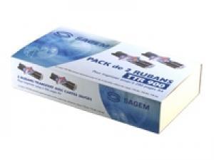 sagem ttr900-2 - rubans phonefax séries 300 / 400 / 2300 / 2600 / 2700 -kit de 2