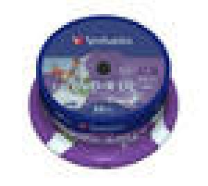 verbatim 43572 - dvd+r 8,5gb 8x double layer - spindle de 25 - imprimable