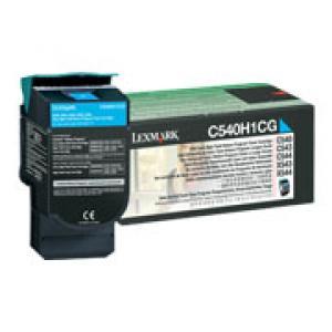 lexmark c540h1cg  - toner cyan c540/c543/c544/c546/x543/x544/x546/x548 - 2000p