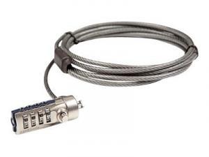 pa410e targus defcon kl - câble antivol pour ordinateur portable à clé - 2.1m